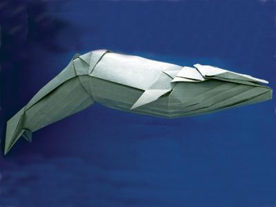 Oirgami Blue Whale