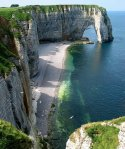 Étretat is a commune in the Seine-Maritime department in the Haute-Normandie region in northern France.
