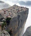 Preachers Rock, Preikestolen, Norway