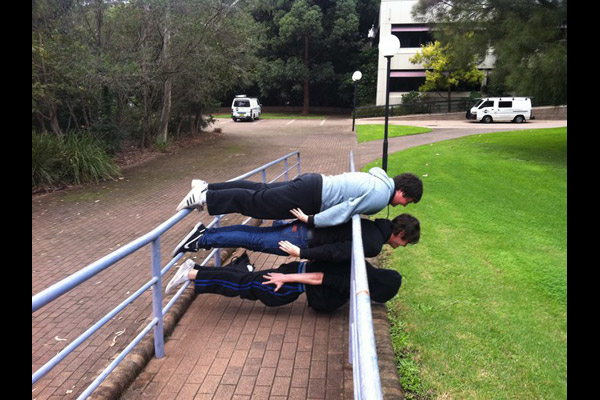 planking photos funny. Planking For A Good Pranking.